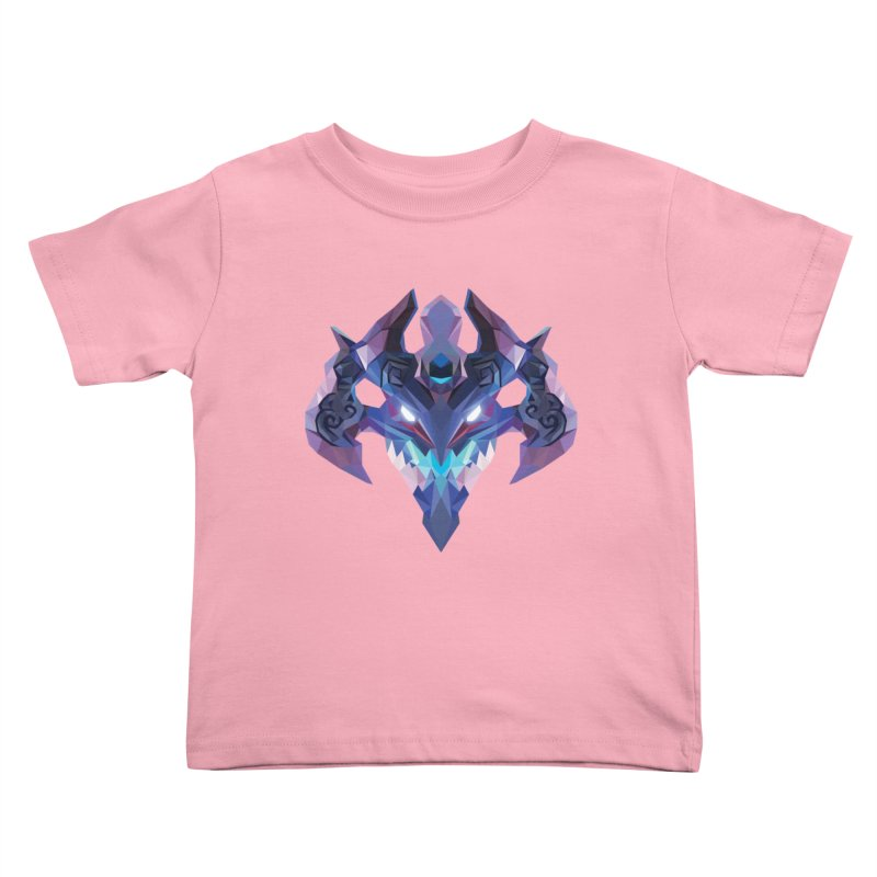Low Poly Art - Visage Kids Toddler T-Shirt by lowpolyart's Artist Shop