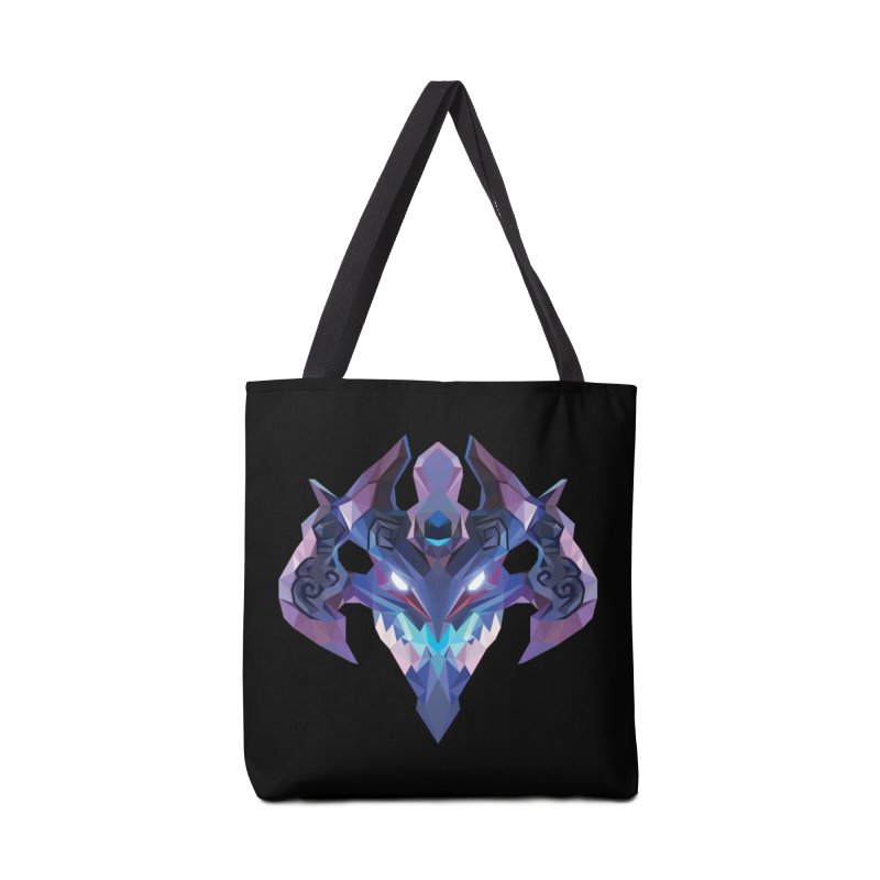 Low Poly Art - Visage Accessories Tote Bag Bag by lowpolyart's Artist Shop