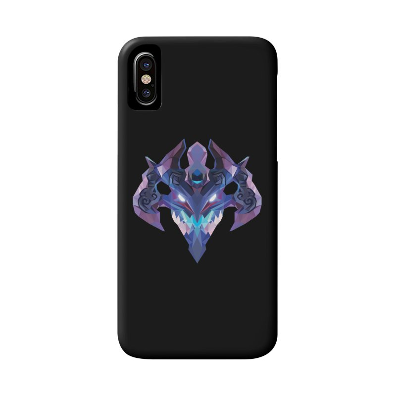Low Poly Art - Visage Accessories Phone Case by lowpolyart's Artist Shop