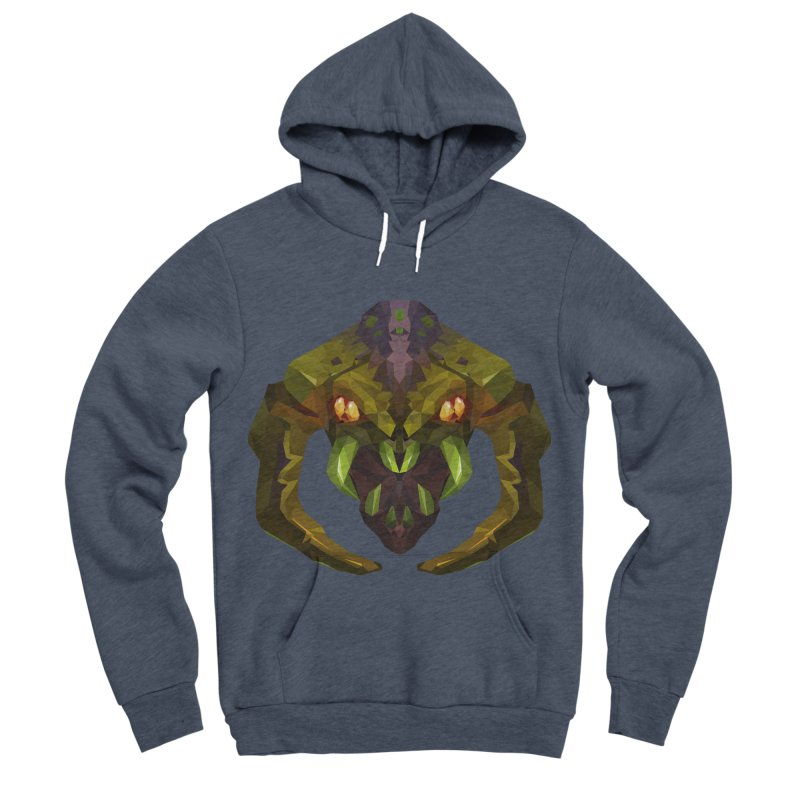 Low Poly Art - Venomancer Men's Pullover Hoody by lowpolyart's Artist Shop