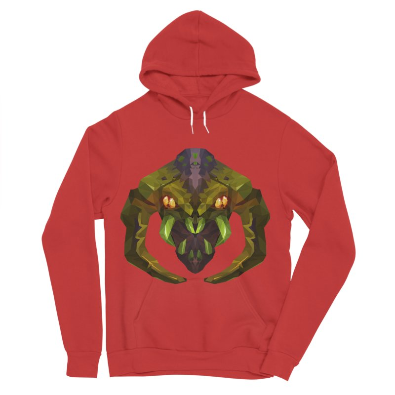 Low Poly Art - Venomancer Women's Pullover Hoody by lowpolyart's Artist Shop