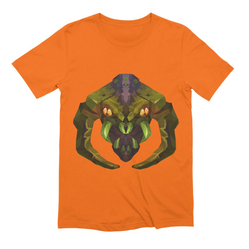 Low Poly Art - Venomancer Men's Extra Soft T-Shirt by lowpolyart's Artist Shop