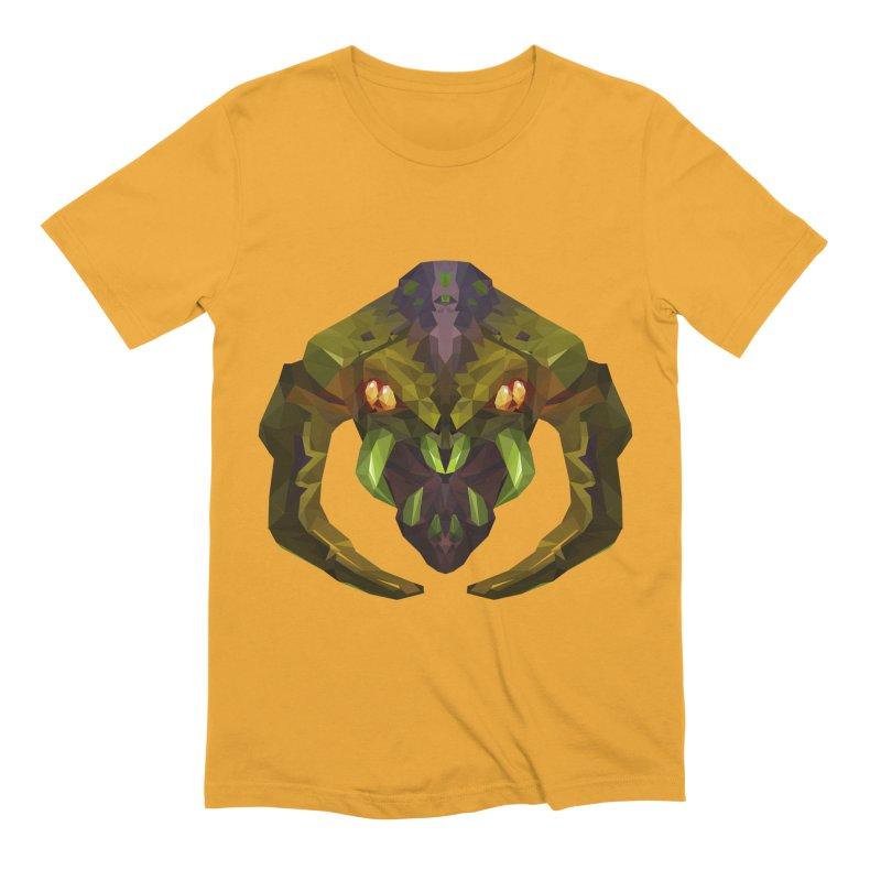 Low Poly Art - Venomancer Men's Extra Soft T-Shirt by lowpolyart's Artist Shop