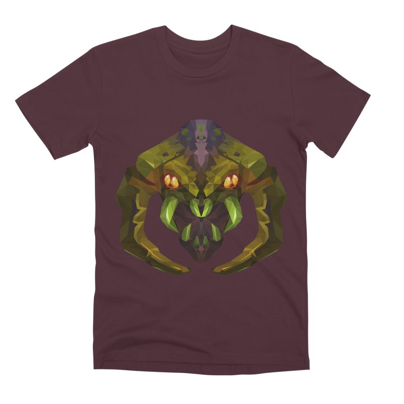 Low Poly Art - Venomancer Men's Premium T-Shirt by lowpolyart's Artist Shop