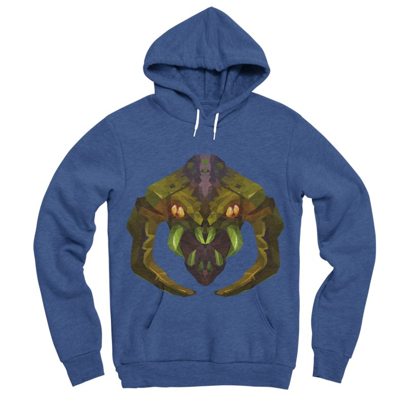 Low Poly Art - Venomancer Women's Sponge Fleece Pullover Hoody by lowpolyart's Artist Shop