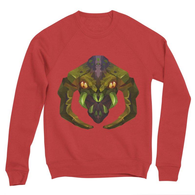 Low Poly Art - Venomancer Women's Sponge Fleece Sweatshirt by lowpolyart's Artist Shop