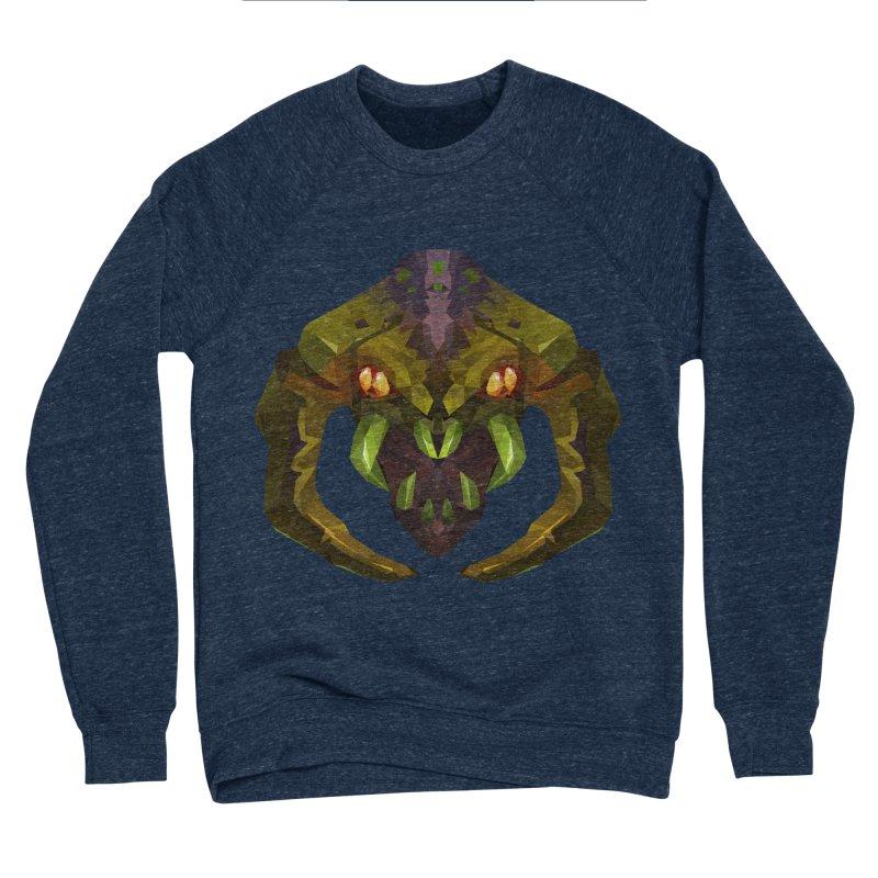 Low Poly Art - Venomancer Men's Sponge Fleece Sweatshirt by lowpolyart's Artist Shop