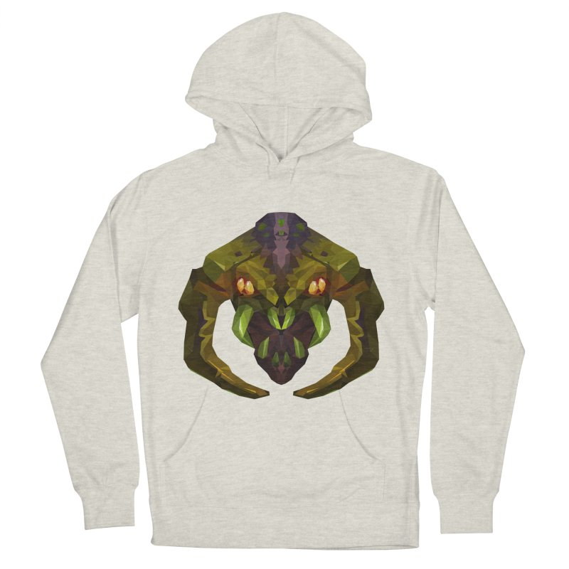 Low Poly Art - Venomancer Women's French Terry Pullover Hoody by lowpolyart's Artist Shop