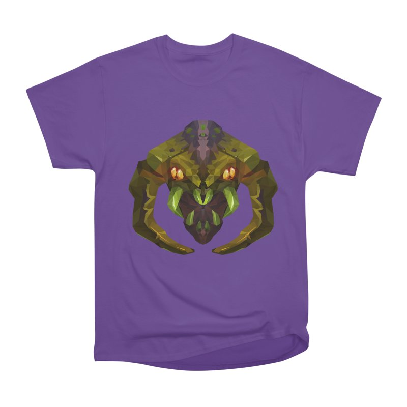 Low Poly Art - Venomancer Men's Heavyweight T-Shirt by lowpolyart's Artist Shop
