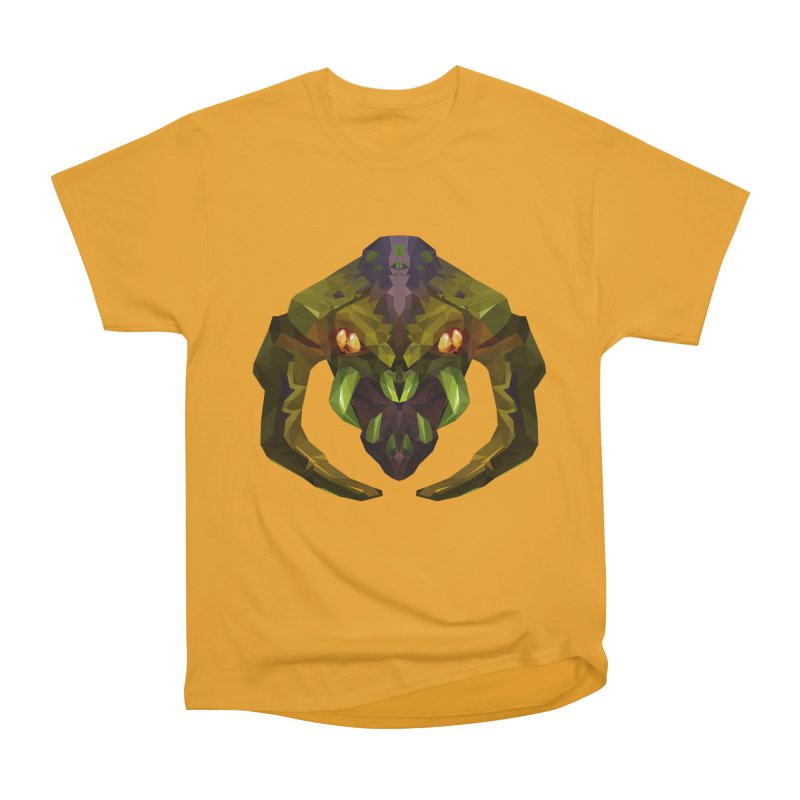 Low Poly Art - Venomancer Men's Heavyweight T-Shirt by lowpolyart's Artist Shop