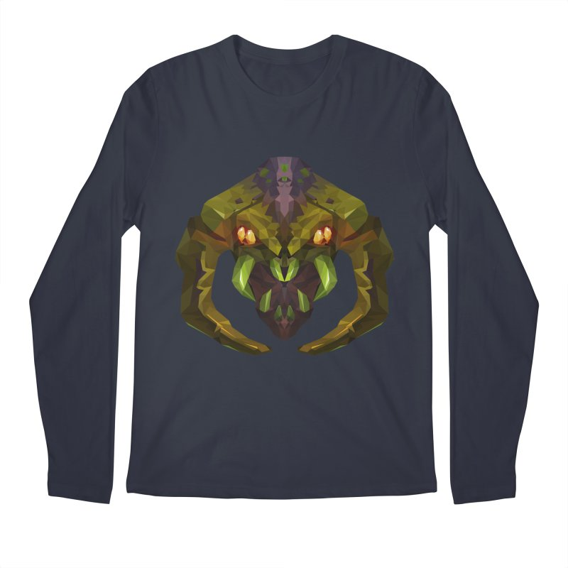 Low Poly Art - Venomancer Men's Regular Longsleeve T-Shirt by lowpolyart's Artist Shop