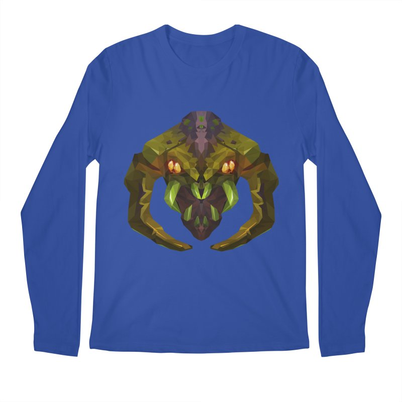 Low Poly Art - Venomancer Men's Regular Longsleeve T-Shirt by lowpolyart's Artist Shop