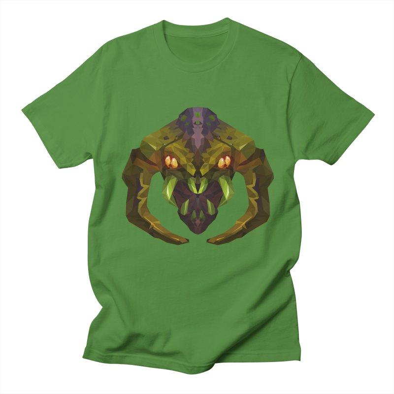 Low Poly Art - Venomancer Women's Regular Unisex T-Shirt by lowpolyart's Artist Shop