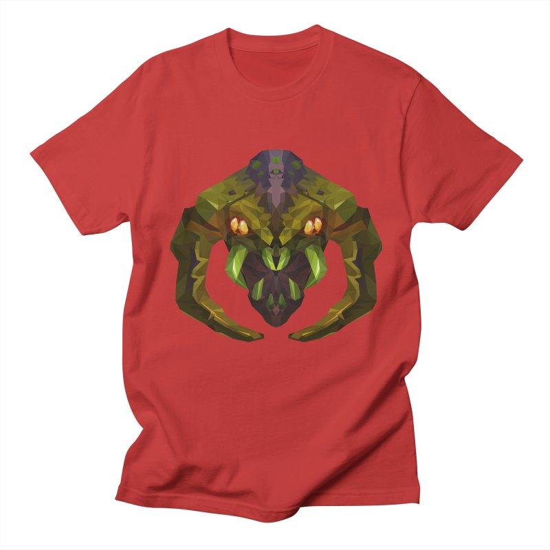 Low Poly Art - Venomancer Men's Regular T-Shirt by lowpolyart's Artist Shop