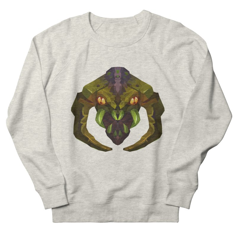 Low Poly Art - Venomancer Women's French Terry Sweatshirt by lowpolyart's Artist Shop