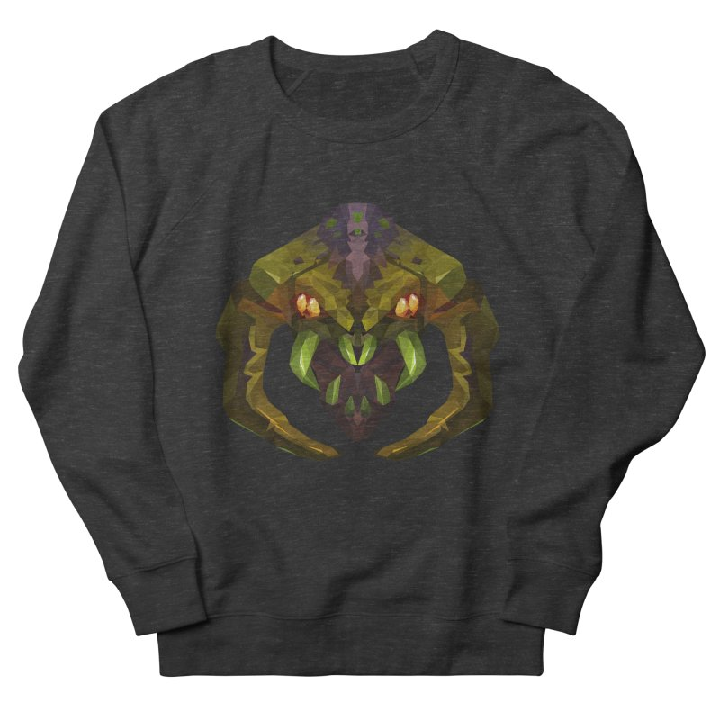 Low Poly Art - Venomancer Men's French Terry Sweatshirt by lowpolyart's Artist Shop