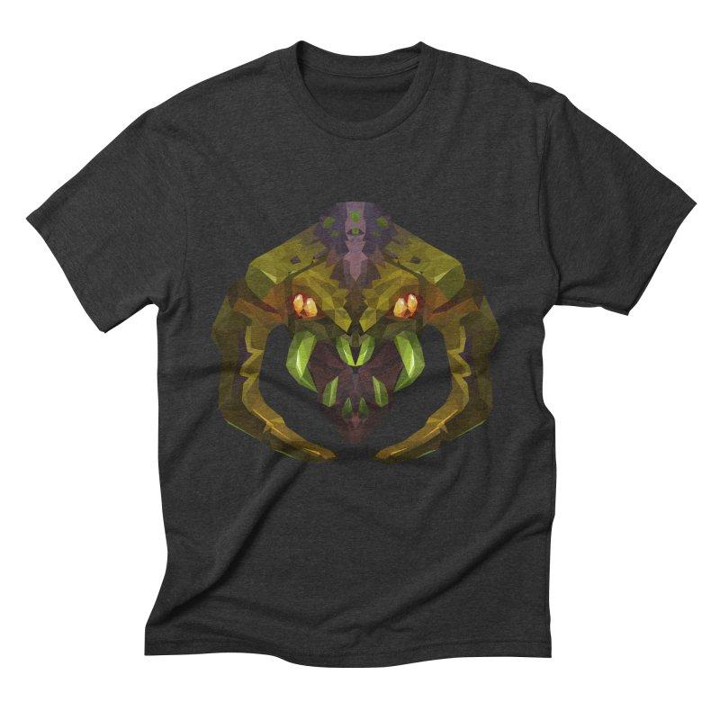 Low Poly Art - Venomancer Men's Triblend T-Shirt by lowpolyart's Artist Shop