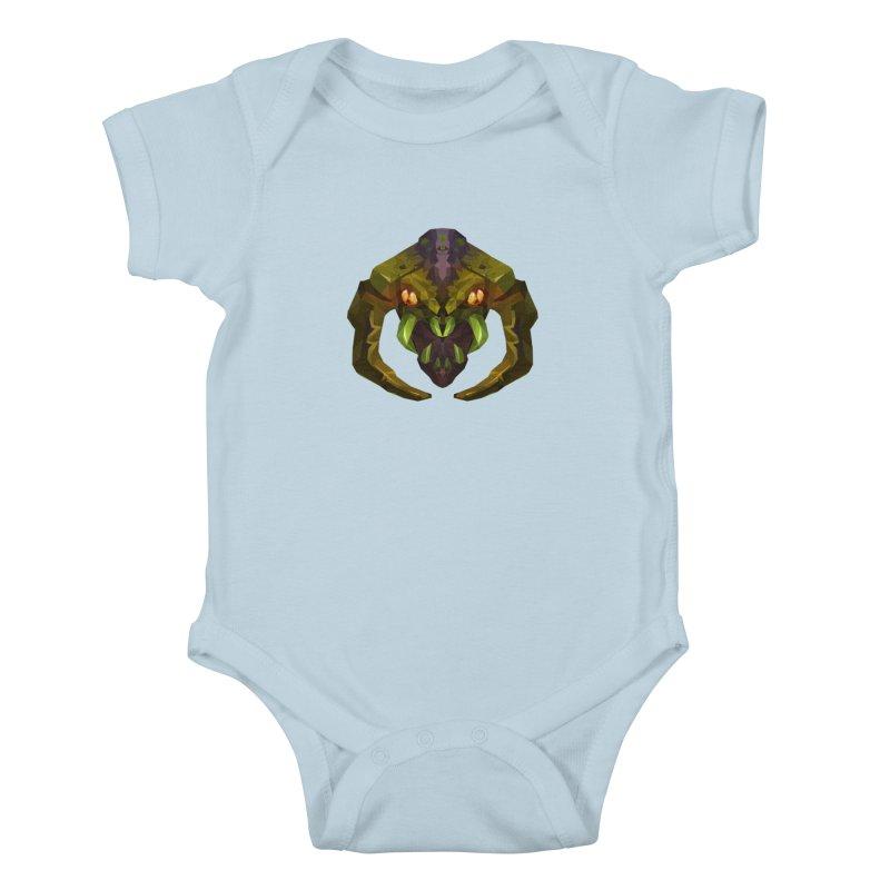 Low Poly Art - Venomancer Kids Baby Bodysuit by lowpolyart's Artist Shop