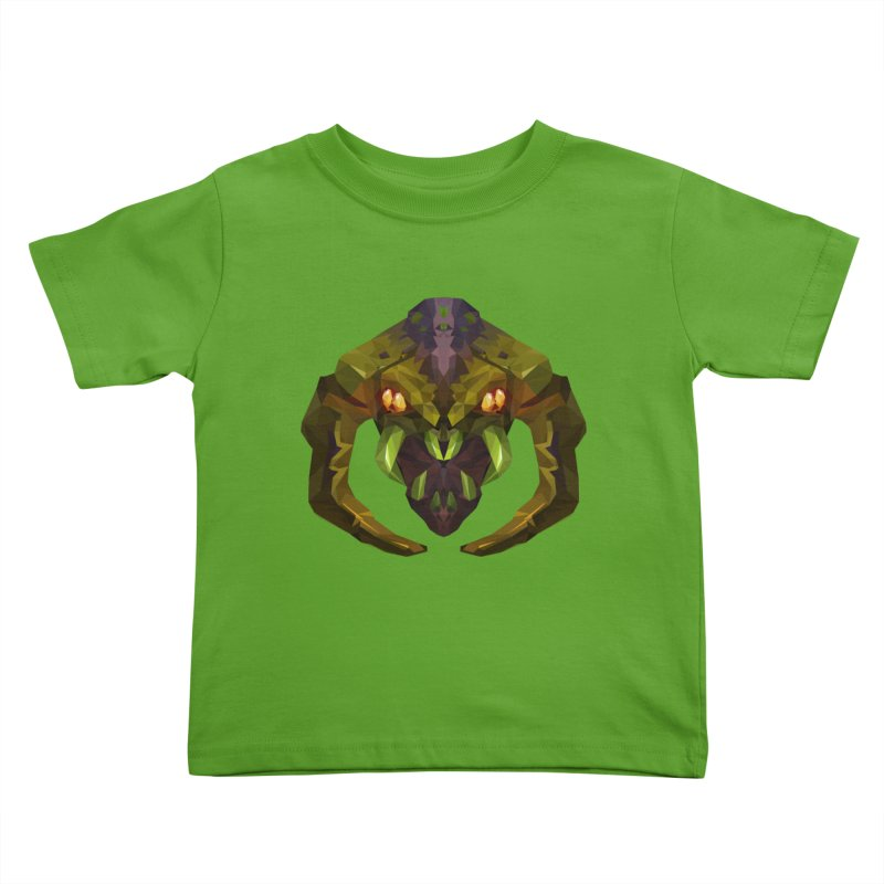 Low Poly Art - Venomancer Kids Toddler T-Shirt by lowpolyart's Artist Shop