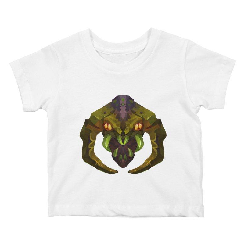 Low Poly Art - Venomancer Kids Baby T-Shirt by lowpolyart's Artist Shop