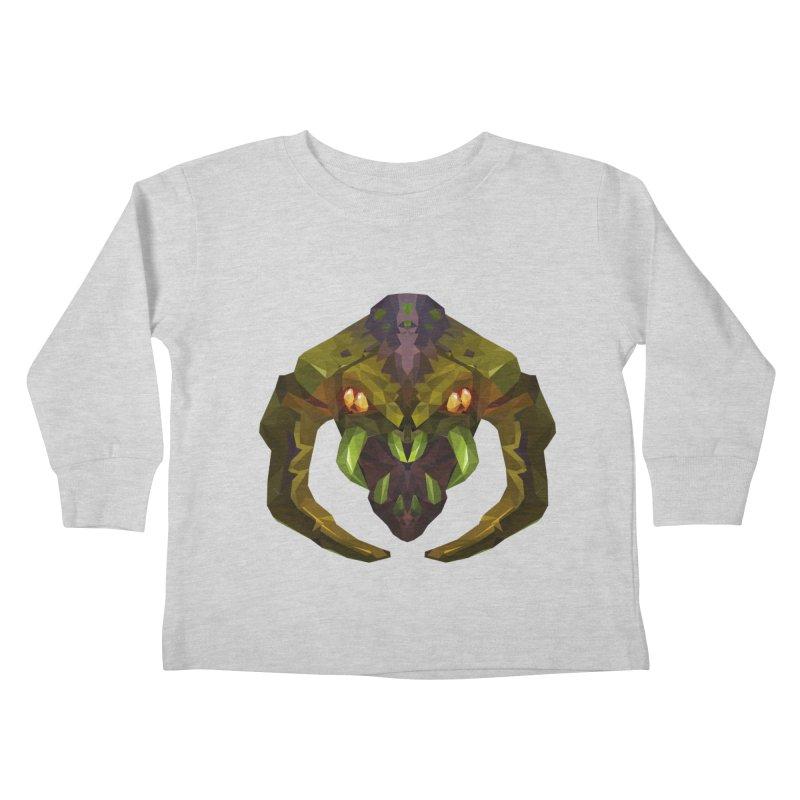 Low Poly Art - Venomancer Kids Toddler Longsleeve T-Shirt by lowpolyart's Artist Shop