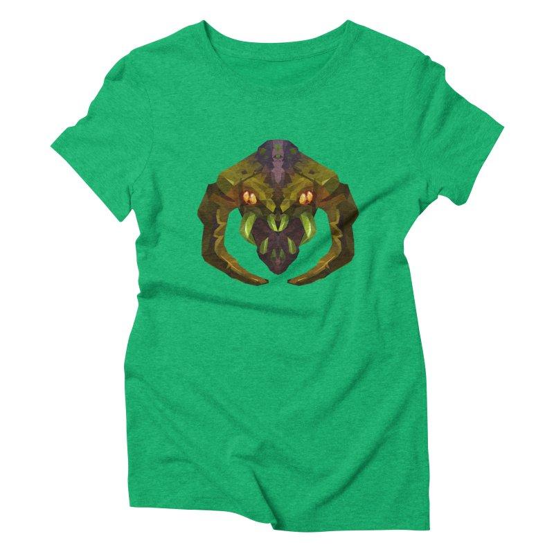 Low Poly Art - Venomancer Women's Triblend T-Shirt by lowpolyart's Artist Shop