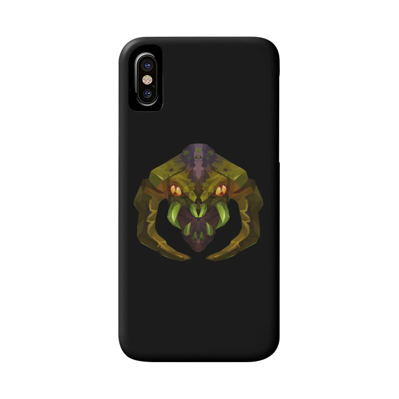 Low Poly Art - Venomancer Accessories Phone Case by lowpolyart's Artist Shop
