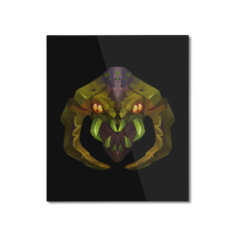 Low Poly Art - Venomancer Home Mounted Aluminum Print by lowpolyart's Artist Shop