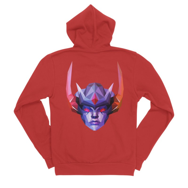 Low Poly Art - Vengeful Spirit Women's Zip-Up Hoody by lowpolyart's Artist Shop