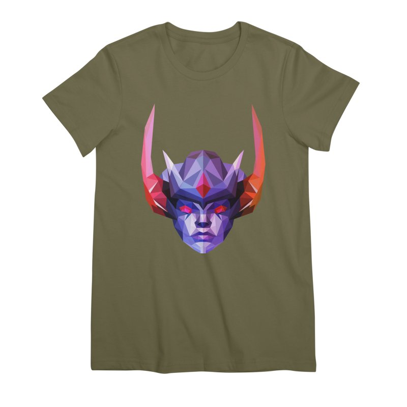 Low Poly Art - Vengeful Spirit Women's Premium T-Shirt by lowpolyart's Artist Shop