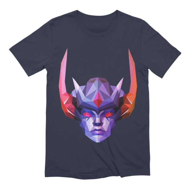 Low Poly Art - Vengeful Spirit Men's Extra Soft T-Shirt by lowpolyart's Artist Shop