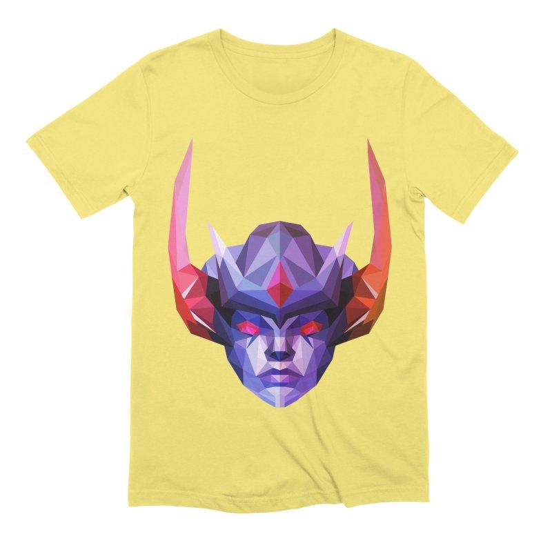 Low Poly Art - Vengeful Spirit Men's Extra Soft T-Shirt by lowpolyart's Artist Shop