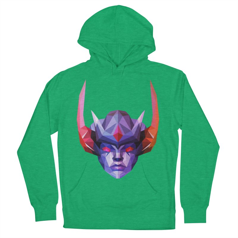 Low Poly Art - Vengeful Spirit Women's French Terry Pullover Hoody by lowpolyart's Artist Shop