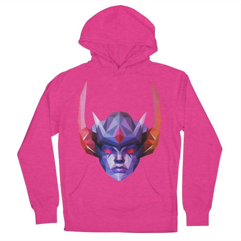 Low Poly Art - Vengeful Spirit Men's French Terry Pullover Hoody by lowpolyart's Artist Shop