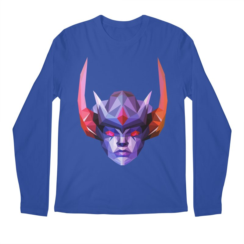 Low Poly Art - Vengeful Spirit Men's Regular Longsleeve T-Shirt by lowpolyart's Artist Shop