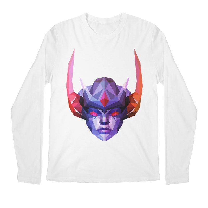Low Poly Art - Vengeful Spirit Men's Regular Longsleeve T-Shirt by lowpolyart's Artist Shop