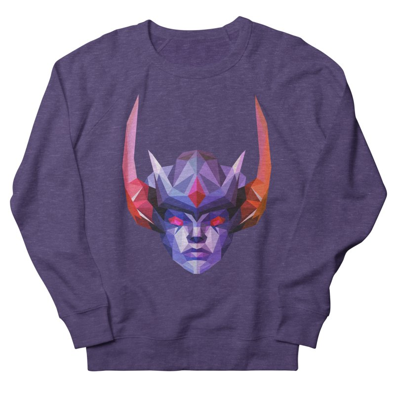 Low Poly Art - Vengeful Spirit Women's French Terry Sweatshirt by lowpolyart's Artist Shop