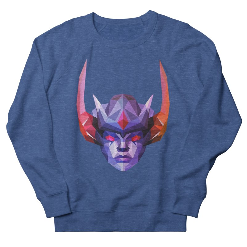 Low Poly Art - Vengeful Spirit Men's French Terry Sweatshirt by lowpolyart's Artist Shop
