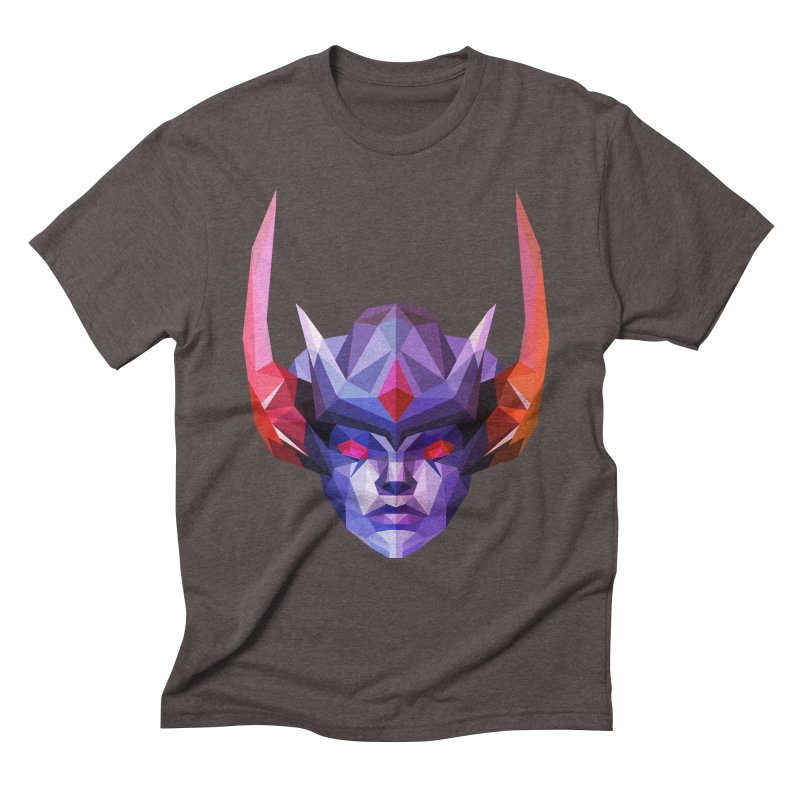 Low Poly Art - Vengeful Spirit Men's Triblend T-Shirt by lowpolyart's Artist Shop
