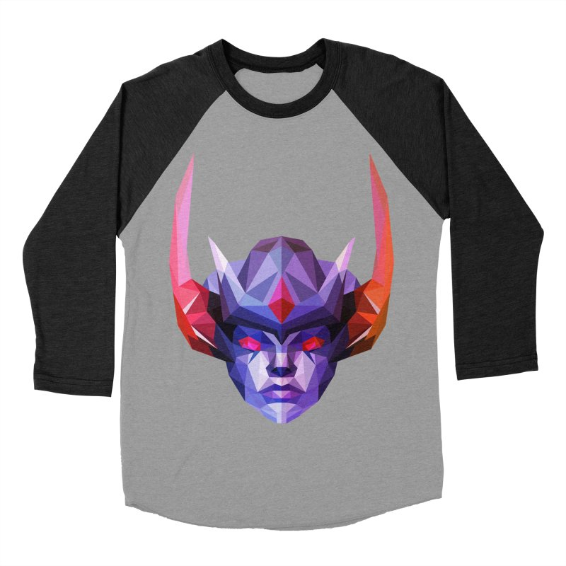 Low Poly Art - Vengeful Spirit Women's Baseball Triblend Longsleeve T-Shirt by lowpolyart's Artist Shop