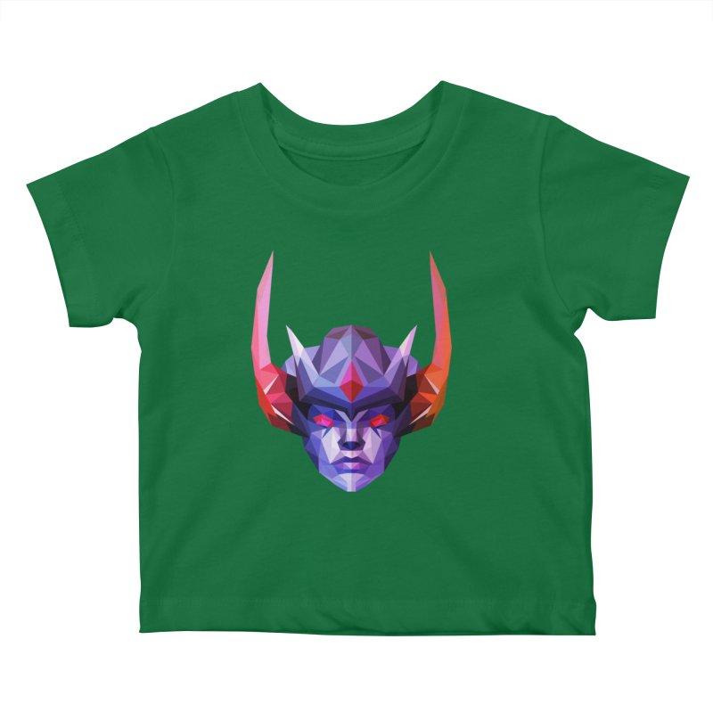 Low Poly Art - Vengeful Spirit Kids Baby T-Shirt by lowpolyart's Artist Shop