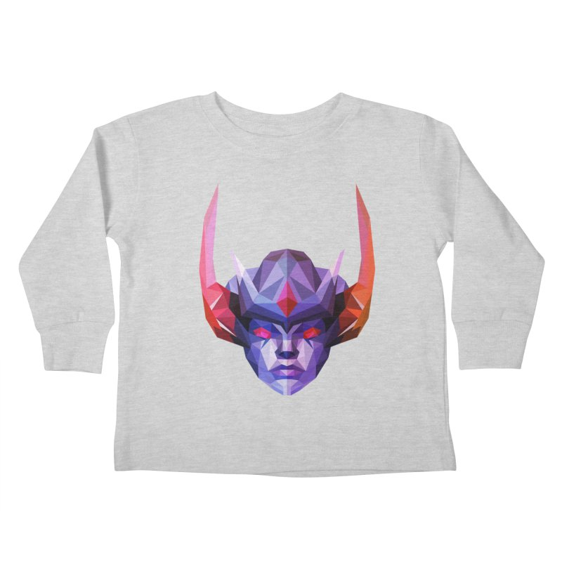 Low Poly Art - Vengeful Spirit Kids Toddler Longsleeve T-Shirt by lowpolyart's Artist Shop