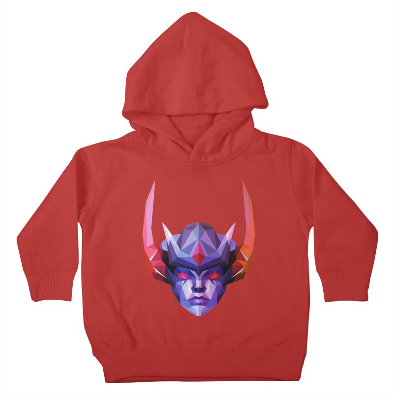 Low Poly Art - Vengeful Spirit Kids Toddler Pullover Hoody by lowpolyart's Artist Shop