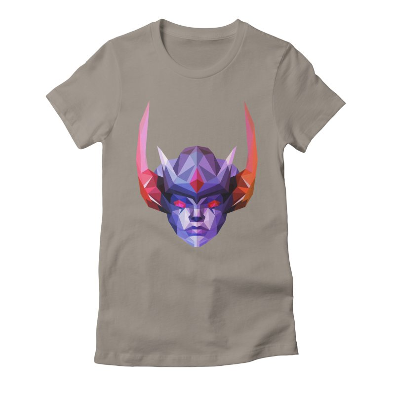 Low Poly Art - Vengeful Spirit Women's Fitted T-Shirt by lowpolyart's Artist Shop