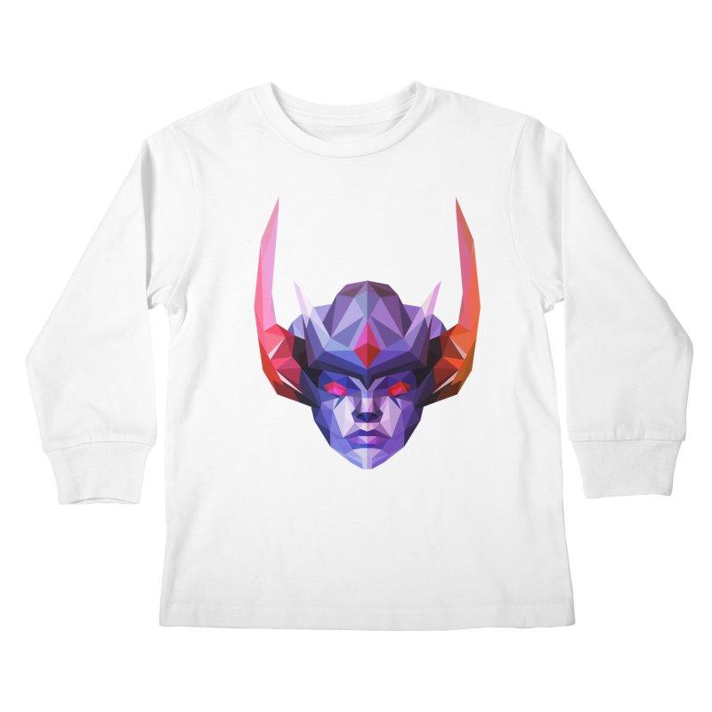 Low Poly Art - Vengeful Spirit Kids Longsleeve T-Shirt by lowpolyart's Artist Shop