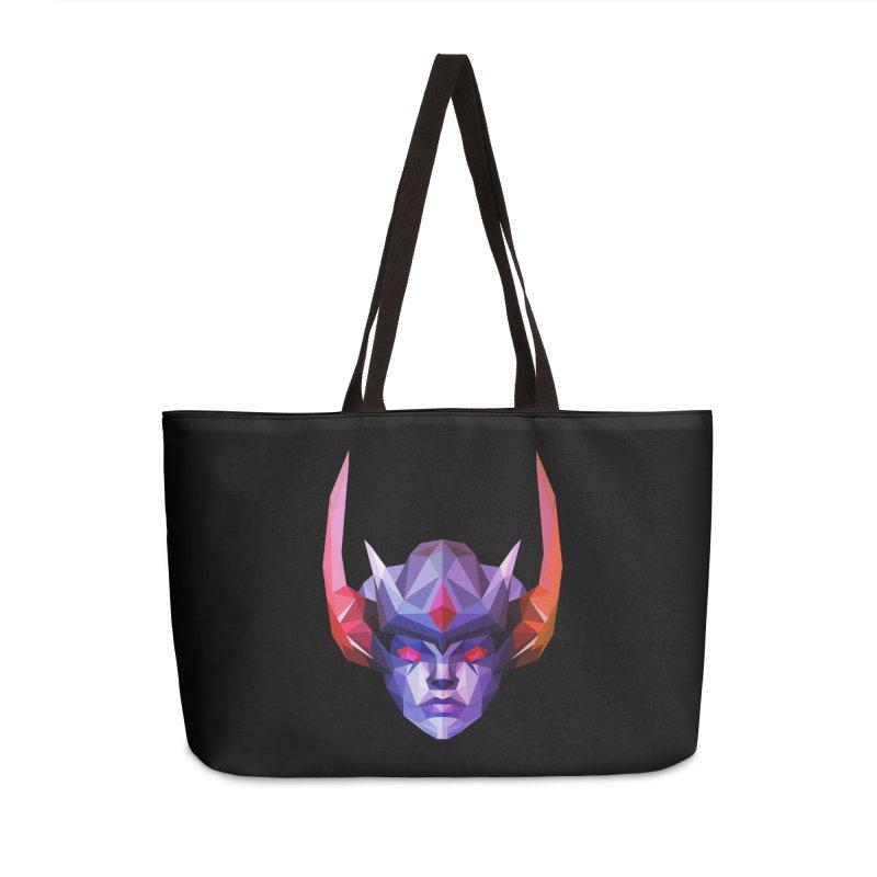 Low Poly Art - Vengeful Spirit Accessories Weekender Bag Bag by lowpolyart's Artist Shop