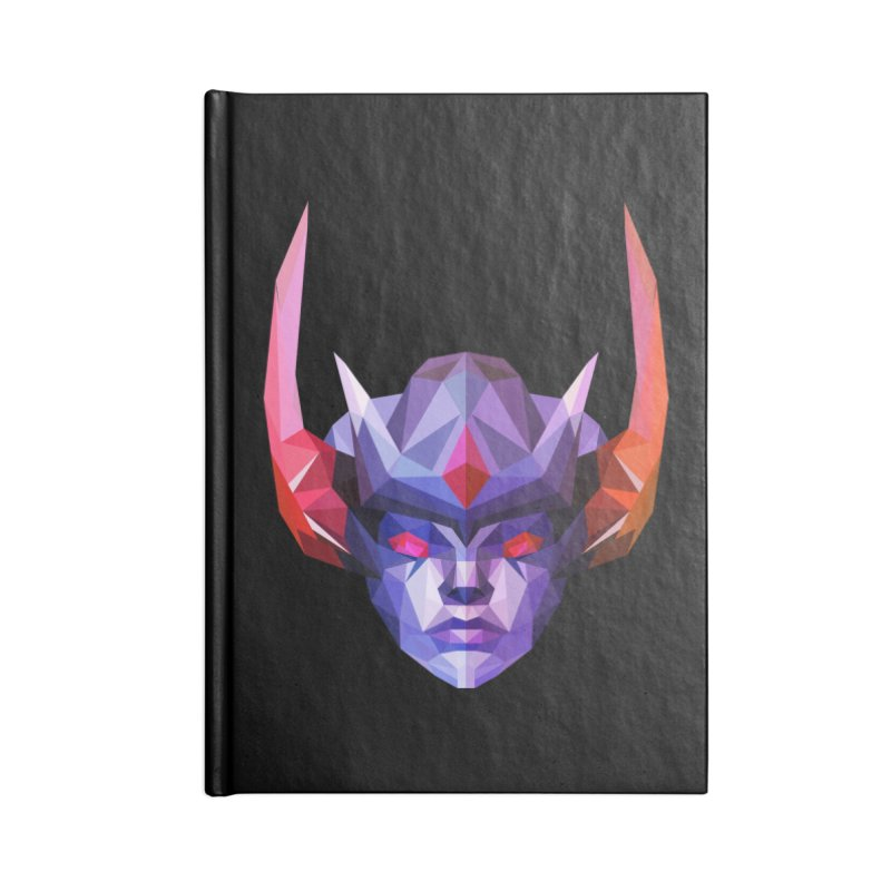 Low Poly Art - Vengeful Spirit Accessories Lined Journal Notebook by lowpolyart's Artist Shop