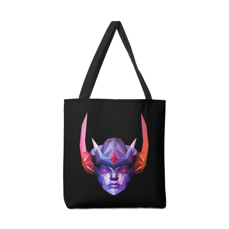 Low Poly Art - Vengeful Spirit Accessories Bag by lowpolyart's Artist Shop
