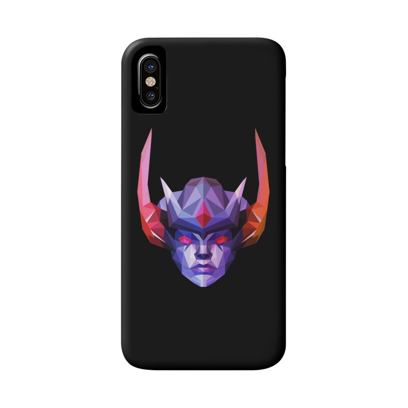 Low Poly Art - Vengeful Spirit Accessories Phone Case by lowpolyart's Artist Shop