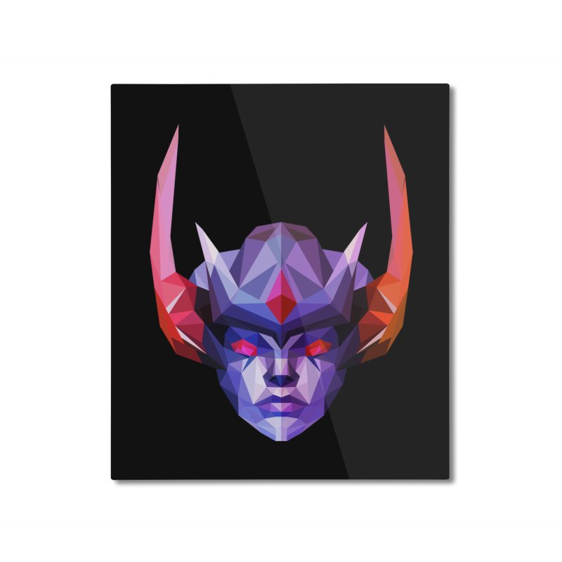 Low Poly Art - Vengeful Spirit Home Mounted Aluminum Print by lowpolyart's Artist Shop
